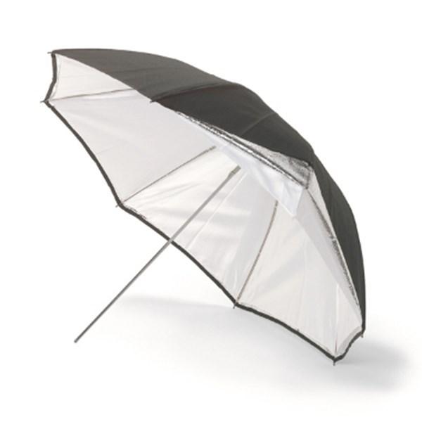 Umbrella Stand Definition: Umbrella 115cm Silver/White