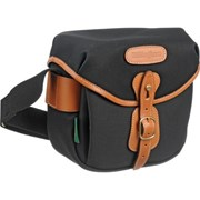 Billingham Hadley Digital Black Canvas/Tan Leather