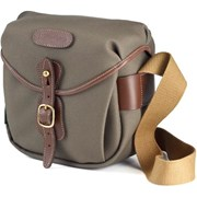 Billingham Hadley Digital Sage FibreNyte/ Chocolate Leather