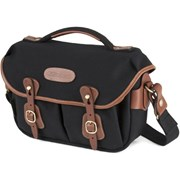 Billingham Hadley Small Pro Black Canvas/Tan Leather