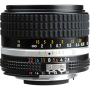 Nikon AI-S 28mm f/2.8 Manual Focus Lens