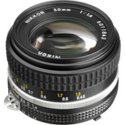 Nikon AI-S 50mm f/1.4 Lens (Indent only)