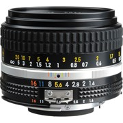 Nikon AI-S 50mm f/1.4 Manual Focus Lens