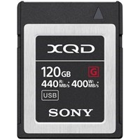 Product: Sony 120GB QD-G120F G Series XQD Memory Card