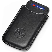 Leica SD & Credit Card Holder Leather Black