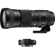 Sigma 150-600mm f/5-6.3 DG OS HSM Sports Lens + TC-1401 Teleconverter Kit: Canon EF