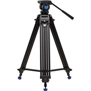 Benro KH25N Two-Stage Video Tripod Alu 3 Sec + K5 Video Head