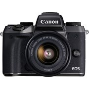 Canon SH EOS M5 + 15-45mm f/3.5-6.3 IS STM lens kit grade 10