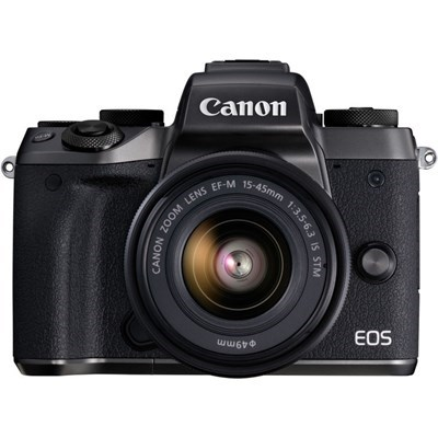 Product: Canon EOS M5 + 15-45mm f/3.5-6.3 IS STM lens kit