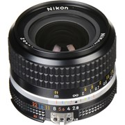 Nikon AI-S 24mm f/2.8 Lens (Indent only)