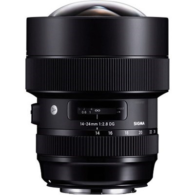 Product: Sigma 14-24mm f/2.8 DG HSM Art Lens: Nikon F