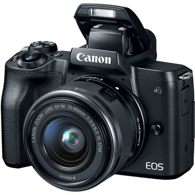 Product: Canon EOS M50 + 15-45mm f/3.5-6.3 IS STM + 55-200mm f/4.5-6.3 IS STM Twin Lens Kit
