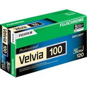 Fujifilm Fujichrome Velvia 100 RVP Colour Transparency Film 120 Roll