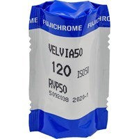 Product: Fujifilm Fujichrome Velvia 50 RVP Colour Transparency Film 120 Roll