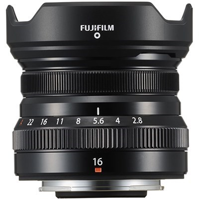 Product: Fujifilm XF 16mm f/2.8 R WR Black Lens