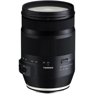 Product: Tamron 35-150mm f/2.8-4 Di VC OSD Lens: Canon EF