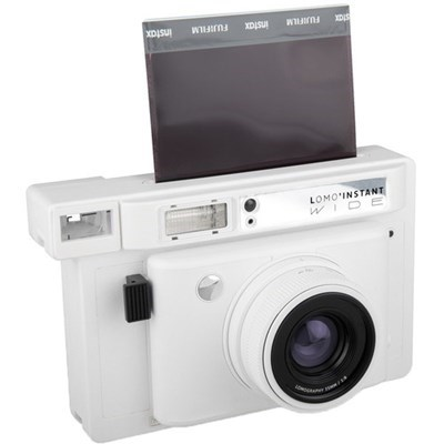 Product: Lomography Lomo'Instant Wide Camera and Lenses (White Edition)