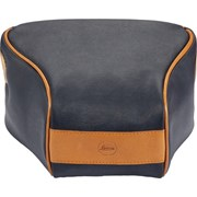 Leica Ettas Coated Canvas Q2 Pouch Midnight Blue