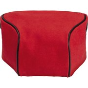 Leica Ettas Coated Canvas Q2 Pouch Red
