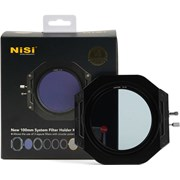 NiSi V6 100mm Filter Holder w/ Enhanced Landscape CPL Filter & Lens Cap