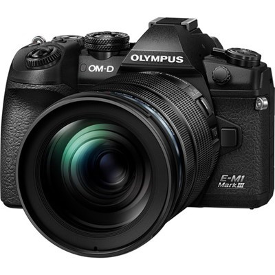 Product: Olympus OM-D E-M1 Mark III Black + 12-100mm f/4 IS ED PRO Kit