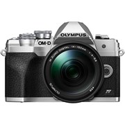 Olympus E-M10 Mark IV Silver + 14-150mm f/4-5.6 II Kit