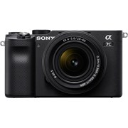 Sony Alpha a7C + 28-60mm f/4-5.6 Black Kit