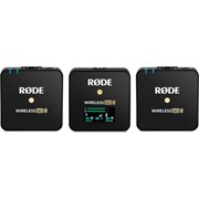 RODE Wireless GO II Dual Channel Compact Wireless Microphone System