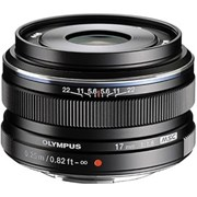 Olympus 17mm f/1.8 Wide Snap Lens Black