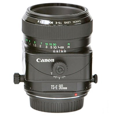 Product: Canon TS-E 90mm f/2.8 Tilt-Shift Lens (2 only)