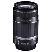 Canon SH EFS 55-250mm IS f/4-5.6 lens grade 5 (minor spore on element)