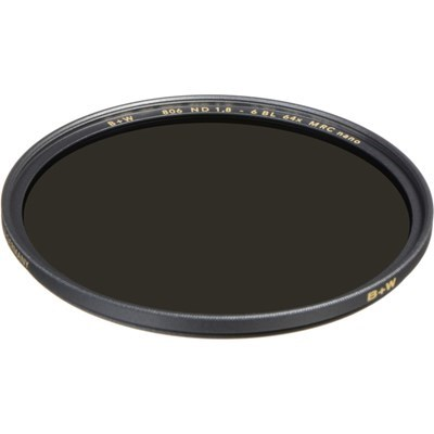 Product: B+W 49mm XS-Pro 806 ND 1.8 64x (6-Stop) MRC Filter