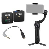 Product: Benro 3XS Lite 3-Axis Smartphone Gimbal + RODE Wireless GO Mic Vlogger Kit (Includes RODE SC4 Adapter)