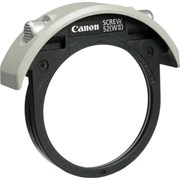 Canon 52mm Drop-in Screw filter holder w/- reg filter