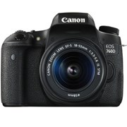 Canon EOS 760D + EF-S 18-135mm IS STM kit