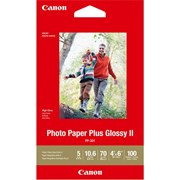 "Canon 4x6"" Photo Paper Plus Glossy II 100s"