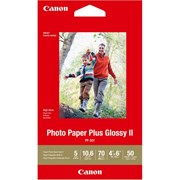 "Canon 4x6"" Photo Paper Plus Glossy II 50s"