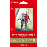 "Canon 4x6"" Photo Paper Plus Glossy II 20s"