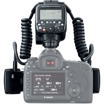 Product: Canon MT-26EX-RT Macro Twin Lite Flash
