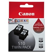 Canon PG510 Cartridge twin pack