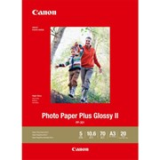 Canon A3 Photo Paper Plus Glossy II 20s