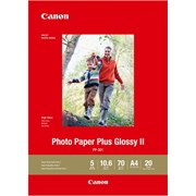 Canon A4 Photo Paper Plus Glossy II 20s