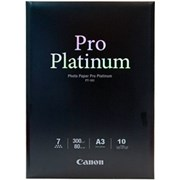 Canon A3+ Photo Paper Pro Platinum 10s