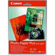 "Canon 4x6"" Photo Paper SemiGloss 260gsm 20s"