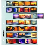 Clear File Archival Plus 35mm: 7 Strips of 5 Frames (25 Pack)
