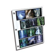 Clear File Archival Plus 120 Film 6x6cm: 4 Strips of 3 Frames (25 pack)