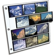 Clear File Archival Plus 120 Film 6x7cm: 4 Strips of 3 Frames (25 pack)