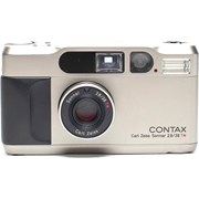 Contax SH T2 35mm compact champagne grade 9