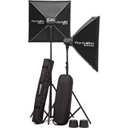 Elinchrom D-Lite RX ONE (2 Heads) Softbox Set