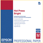 Epson A2 Hot Press Bright Signature Worthy Paper 330gsm 25 Sheets